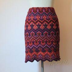 Ravelry: Alpenrose's Fox Paws pattern mod into skirt
