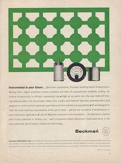 Beckman Ad  Ad Agency: Erwin Wasey, Ruthrauff & Ryan, Inc.