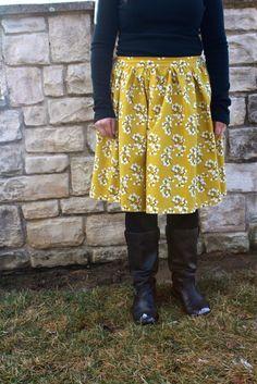 DIY skirt  annaelizabethmade