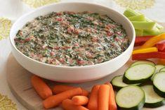 VELVEETA Cheesy Spinach Dip recipe