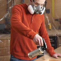 Aerosol cans of shellac, lacquer and polyurethane allow you to quickly apply a finish on small or complex projects that's free of brush marks. Learn the basic techniques that guarantee a good finish.