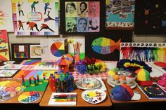 The World Wide Color Wheel Project | SchoolArtsRoom | Art Education Blog for K-12 Art Teachers