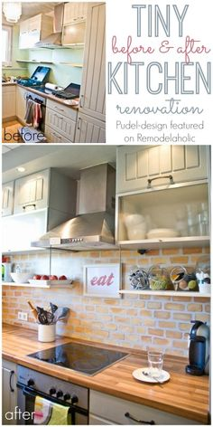 Small Kitchen Reno -