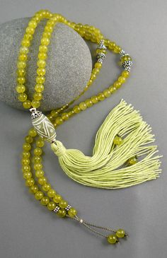 Mala Bead Necklace - Jade Mala Beads - Meditation - 108 Mala Beads