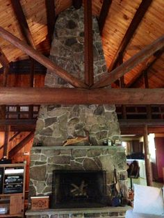 Native stone at Lake Wallenpaupack does add character