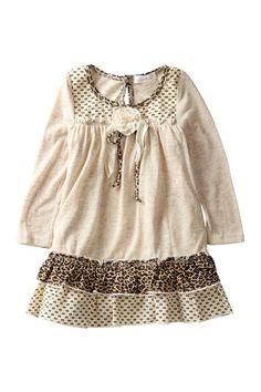 Rosette and Bow Drop Waist Dress (Baby, Toddler, & Little Girls) by Hannah Banana on @HauteLook