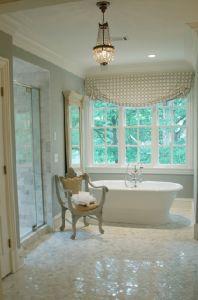 Lori Tippins Luxurious bathroom