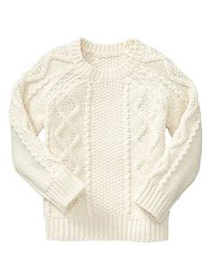 Textured cable sweater | Gap