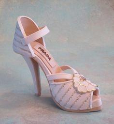 Fondant Shoe- Easy ankle strap