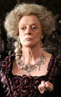Maggie Smith - such a great actress