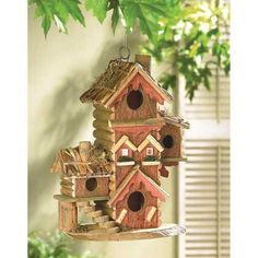 Gingerbread Style Birdhouse | $24.95 | Lexi's Kreationz, LLC | http://lexiskreationz.storenvy.com/products/868238-gingerbread-style-birdhouse