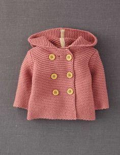 Mini Boden knitted jacket, free pattern on Ravelry