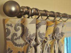 DIY: Goblet Pleat w/ bias banding