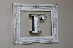 Ten Design Ideas for an Empty Frame www.TheMagnoliaMom.com