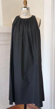 hache - charcoal dress charcoal dress