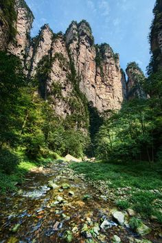 I carried my equipment all up and down this valley in Zhangjiajie… up and down each side, traversing the entire length several times, took very few breaks, and ended up sleeping like a baby. #Zhangjiajie, #China Photo by Trey Ratcliff  #treyratcliff at www.StuckInCustom... - all images Creative Commons Noncommercial.
