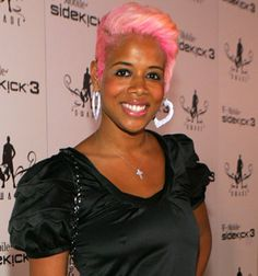 kelis pink hair pic Hair Color Gone Wrong