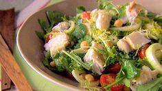 Giada Dilaurentiis' Halibut and Chickpea Salad