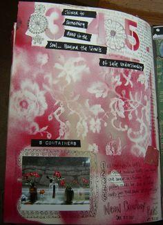 Mary Ann Moss visual journal