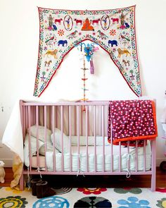 Perfect for my baby girl someday... Perhaps some bright paint on the walls as well.