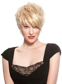 Short Blonde Pixie Hairstyles