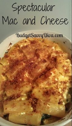 This is the best mac and cheese I ever had!!!