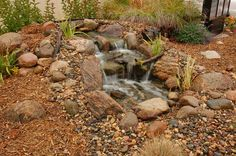 landscape waterfalls | pond-pictures/Waterfalls/small-waterfall-landscape