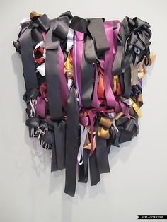 Ribbon Paintings // Vadis Turner | Afflante.com
