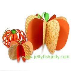 3D Paper Pumpkin a (15)