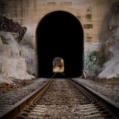 Chatsworth Park train tunnel, San Fernando Valley