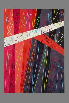 "Sgabello 6 Vertex, 36.5 x 50.5"", by Sandra Palmer Ciolino"