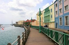 Bridgetown Promenade, Barbados, Caribbean, #barbados