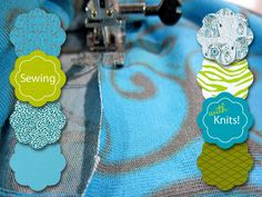 Sewing with Knits, lots of info and especially with examples on stitching to use