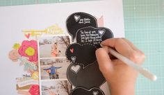 Love this: Video tutorial with Wilna Furstenburg on chalkboard style journaling | Big Picture Classes