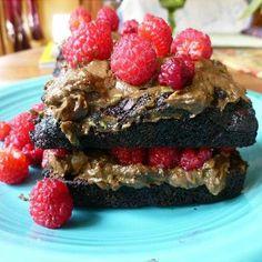 Vegan, Gluten-Free Layered Chocolate Zucchini CakeWith Raspberries +10 Delicious Avocado Desserts