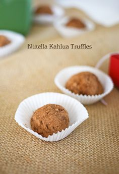 Nutella Kahlua Truff