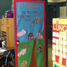 Door, The True Story of the Three Little Pigs