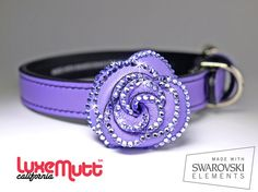 jeweled dog collar <3