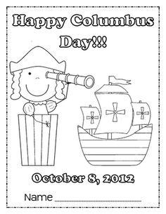 Freebies for Columbus Day!!! columbus day, school, food diy, hair food, freebi