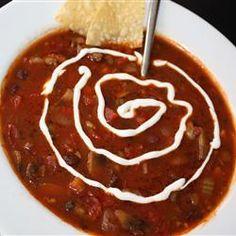 Pub-Style Vegetarian Chili Recipe