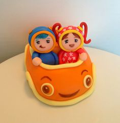 Team Umizoomi party, cake toppers, fondant