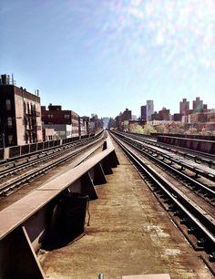Vanishing into NYC