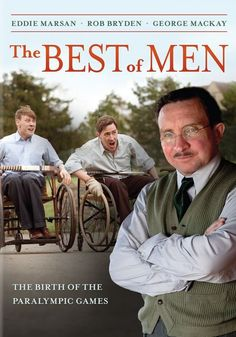 The story of one remarkable doctor as he transforms the standards of care for paraplegics. Arriving at Stoke Mandeville Hospital in 1944, Doctor Guttman reinvigorates the lives of his staff and patients with one daring move: he introduces athletics into the rehabilitation plan of his patients. Drama, Rated TV-PG, 90 min. http://highlandpark.bibliocommons.com/search?utf8=%E2%9C%93&t=smart&search_category=keyword&q=marsan+best+men&commit=Search