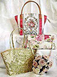 Paris and the Social Butterfly Handbag Pattern *