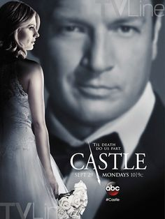 Castle First Look: Season 7 Poster Tells a Story of a Bride... and Gloom