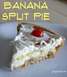 Banana Split Pie ...yummy!