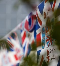 Royal jubilee flags