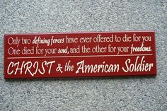 A great place for Military Signs and other home decor