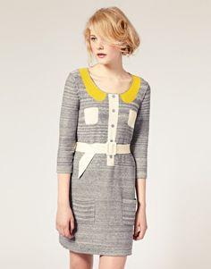 sonia by sonia rykiel knitted dress