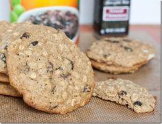 GF Oatmeal Raisin Cookies